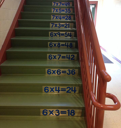 School Stock Stairs