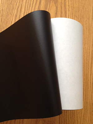 Black Opaque Mounting Adhesive Provides Cost Savings