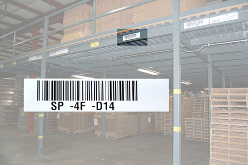 Reflective Long Range Barcode and Durable Labeling